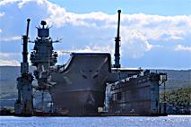 Для докования «Адмирала Кузнецова» модернизируют 35-й судоремонтный завод в Мурманске
