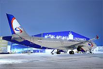 Воздушный флот «Уральских авиалиний» пополнил еще один самолет Airbus A321